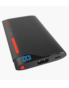 Cygnett Chargeup Digital 1 Port 2.1A Red/Grey 4000Mah Power Bank