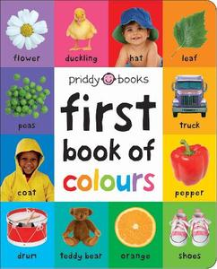 First Book Of Colours (Large Ed)