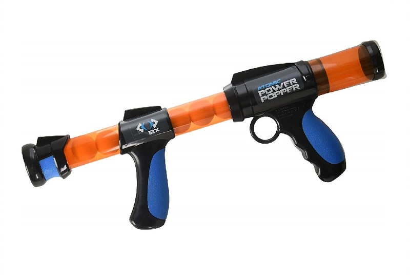 Hog Wild Atomic Power Popper with 12X Foam Ammo Balls