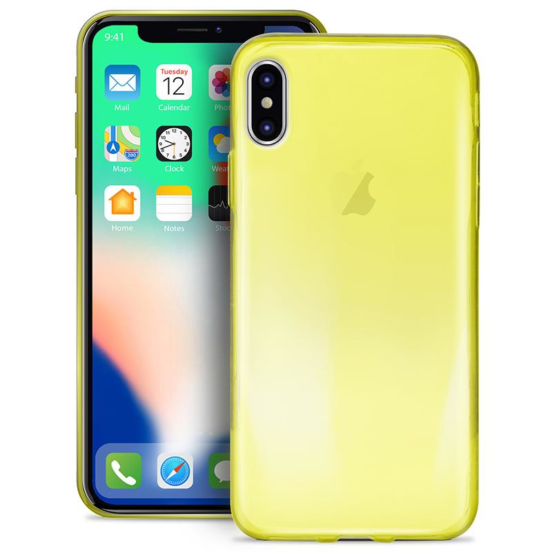yellow iphone x case