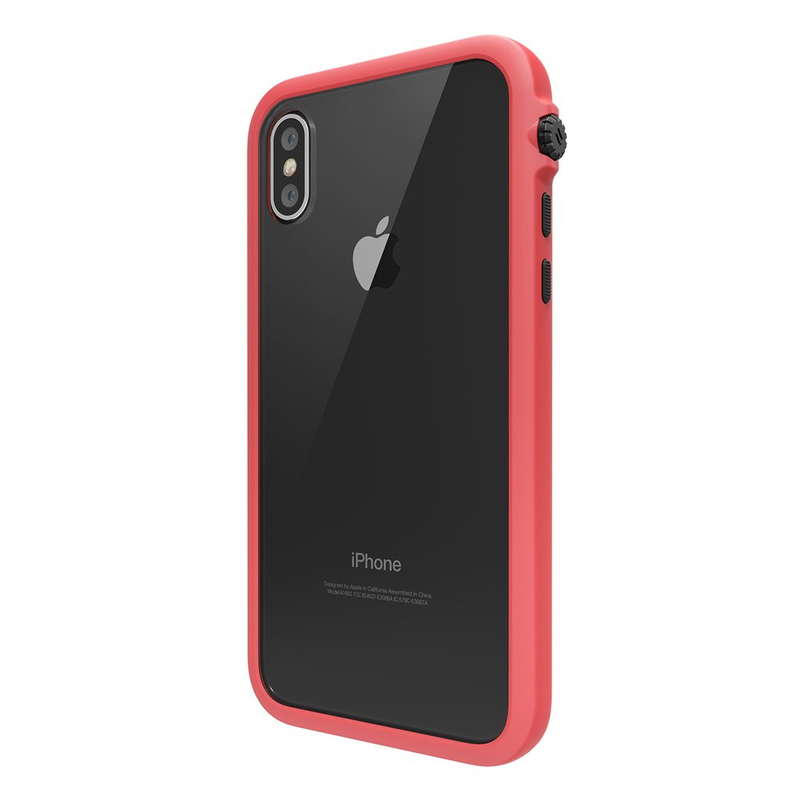 newest 62109 311ed Catalyst Impact Protection Case Coral for iPhone X