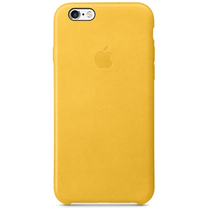 Apple Leather Case Marigold iPhone 6/6S