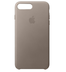 Apple Leather Case Taupe For iPhone 7 Plus