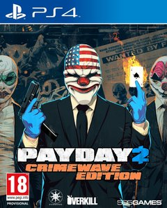 Payday 2 Crimewave Ed Ps4