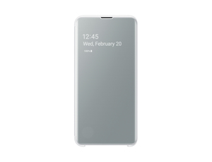 Samsung B0 Clear View Cover White for Galaxy S10e
