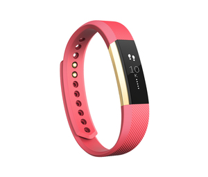 Fitbit Alta Gold/Pink Large Activity Tracker