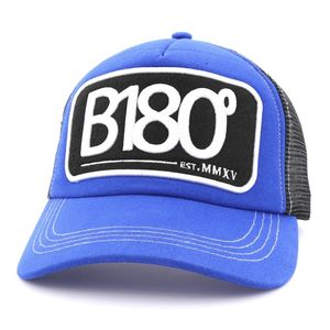 B180 Sign 7 Unisex Cap Blue/Black