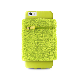 Puro Running Wristband Lime Green with Key Pocket iPhone 6