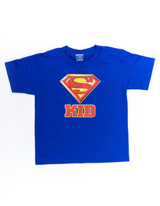 Superman Super Kid Royal Juvenile Boys T-Shirt