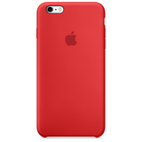Apple Silicone Case Red iPhone 6S Plus