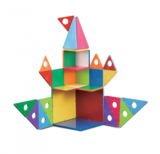 Magna-Tiles 33 Piece Gs Building Set + Connection Guide