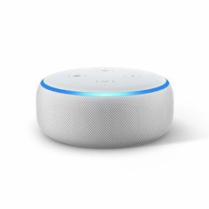 Amazon Echo Dot Sandstone Fabric [3rd Gen]