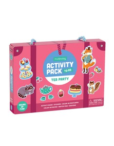 Mudpuppy Tea Party Activity Pack To Go