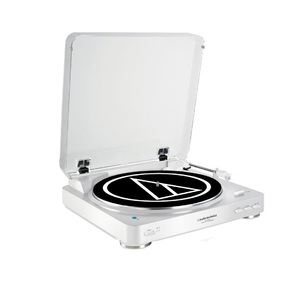 Audio Technica AT-LP60 Bluetooth Turntable White