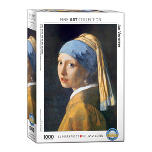Eurographics Girl With The Pearl Earring by Jan Vermeerde Delft Jigsaw Puzzle [1000 Piece]