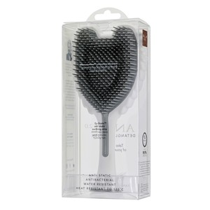 Tangle Angel Soft Touch Hair Brush White & Grey Bristles
