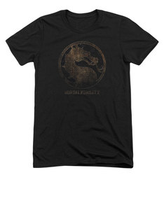 Mortal Kombat X Metal Seal T-Shirt Black
