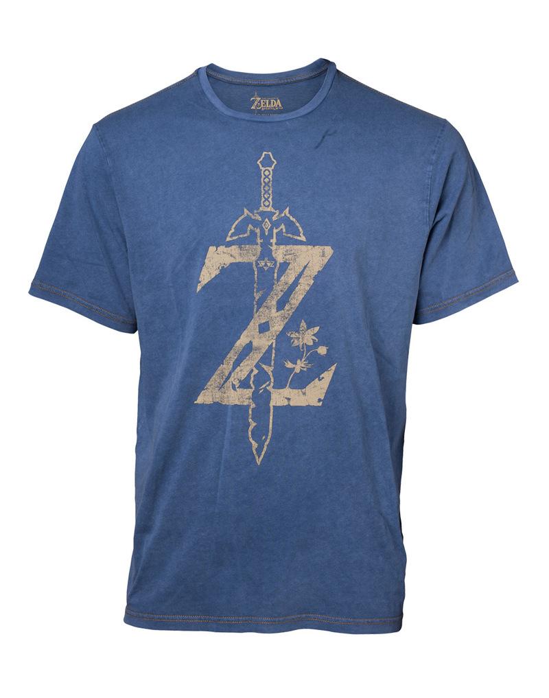 394d543564 Difuzed Zelda Faux Denim Multicolor Men's T-Shirt