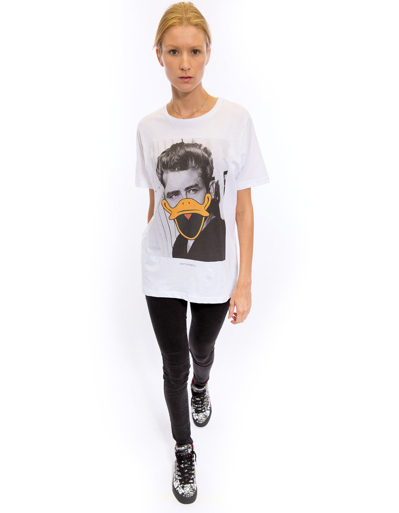 Saint Noir James  Rolled Sleeves Women's T-Shirt