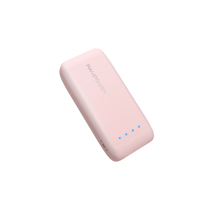 Ravpower 6700mAh Pink Power Bank with iSmart 2.0 Technology
