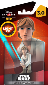 Disney Infinity 3 Light Up Luke Skywalker Figurine
