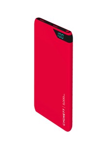 Cygnett ChargeUp Boost 5000mAh Red Power Bank