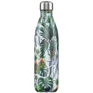 Chilly's Bottle Tropical/Elephant 750ml Water Bottle