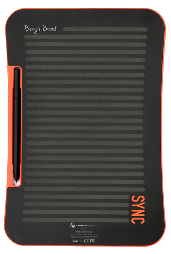 Boogie Board Sync 9.7 Lcd Ewriter Black/Orange