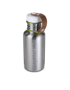 Black & Blum Water Bottle Silver Small 17Oz