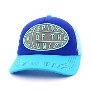 B180 Spirit Of Union Unisex Cap Blue/Aqua Blue Limited Edition