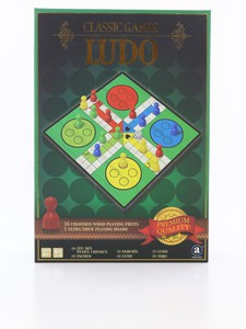 Merchant Ambassador Classic Wood Ludo Board Game