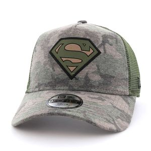 New Era Superman Camo Kids Cap Wdc