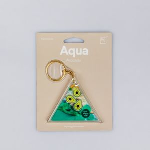 DOIY Aqua Keyring Photo Holder Avocado