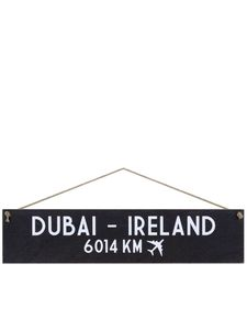 I Want It Now Ireland Wooden Location Sign