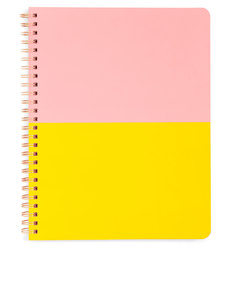 Ban.do Rough Draft Mini Notebook Color Block Peach