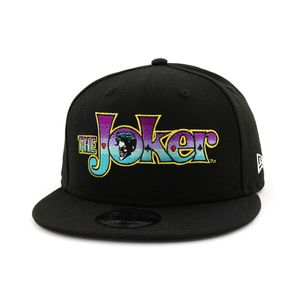 New Era DC Comics The Joker Men's Cap Black