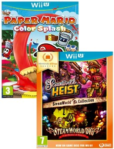 Paper Mario Colour Splash + Steam World Collection [Bundle]