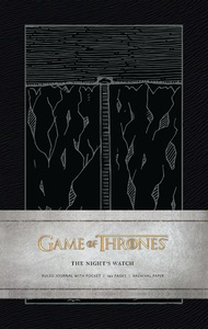 Game Of Thrones Night'S Watch Hardcover Ruled Journal