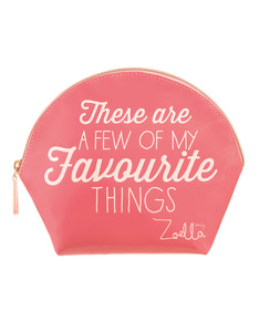 Zoella Favorite Things Coral Bag