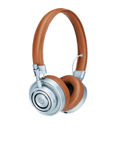 Master & Dynamics Mh30S2 Brown/Silver On Ear Headphones