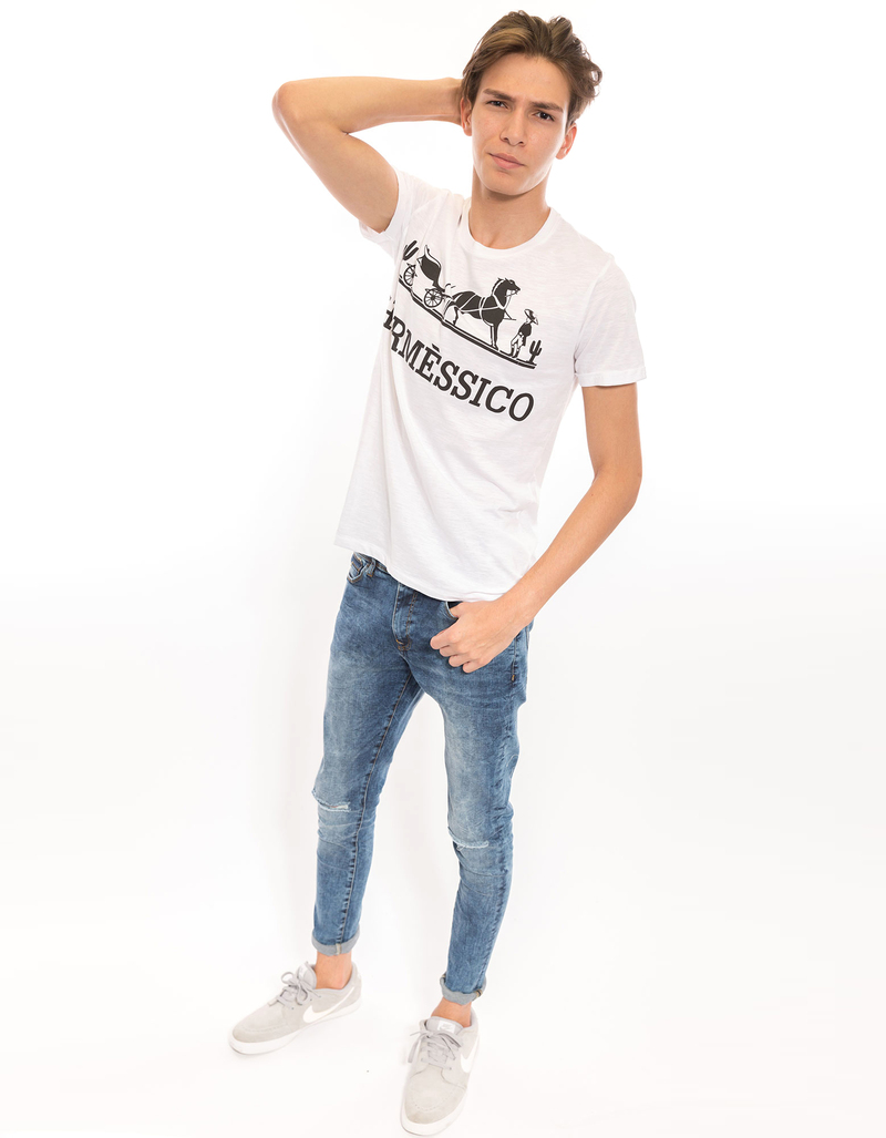 Hermessico White Men's T-Shirt