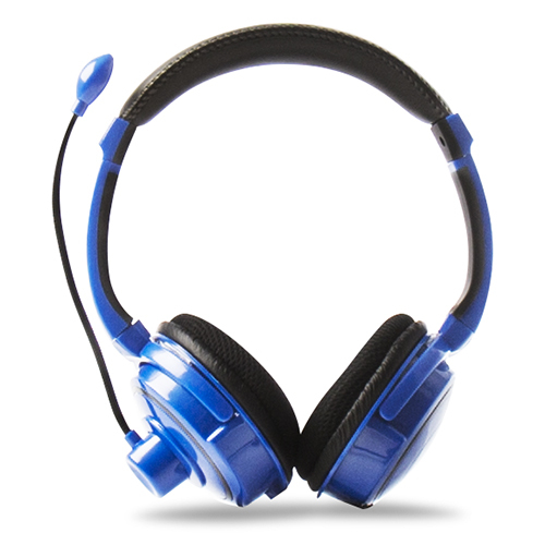 4Gamers Stereo Blue Gaming Headset Ps4