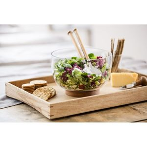 Sagaform Oak Salat Utensils