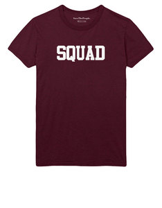 SaveThePeople Squad Maroon T-Shirt