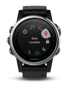 Garmin Fenix 5S Black GPS Watch