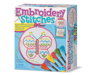4M Embroidery Stitches Craft Kit