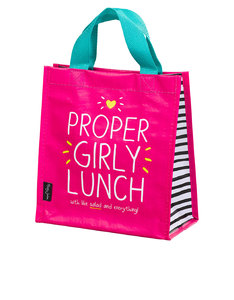 Happy Jackson Proper Girly Lunch Pink Handy Tote