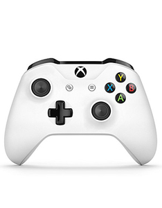 Microsoft Xbox One White Wireless Controller