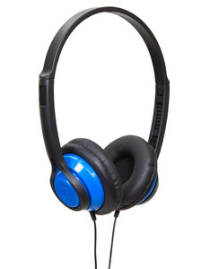 Wicked Audio Clutch Blue On-Ear Headphones