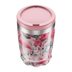Chilly's Bottles Tropical Flamingo Coffee Cup 340ml